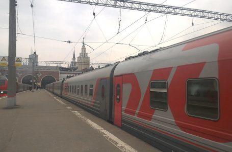 Фирменный поезд «Анапа-Москва»