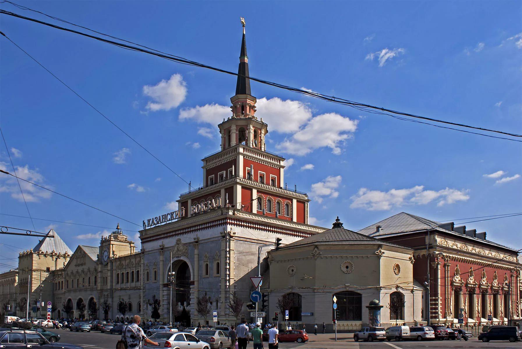 Как добраться до Казанского вокзала?