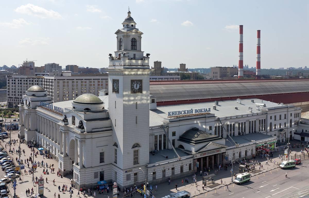 Киевский вокзал Москвы: адрес, телефоны и услуги