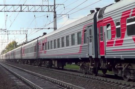 Фирменный поезд «Баргузин» Иркутск – Забайкальск