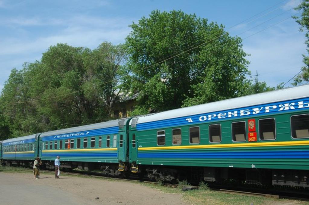 Расписание фирменного поезда «Оренбуржье»: из Оренбурга в Москву и обратно