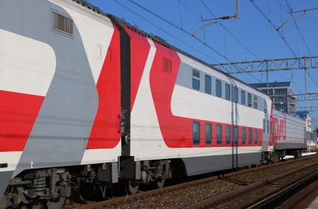 Фирменный поезд «Северная Пальмира (двухэтажный)» «Санкт-Петербург – Адлер»