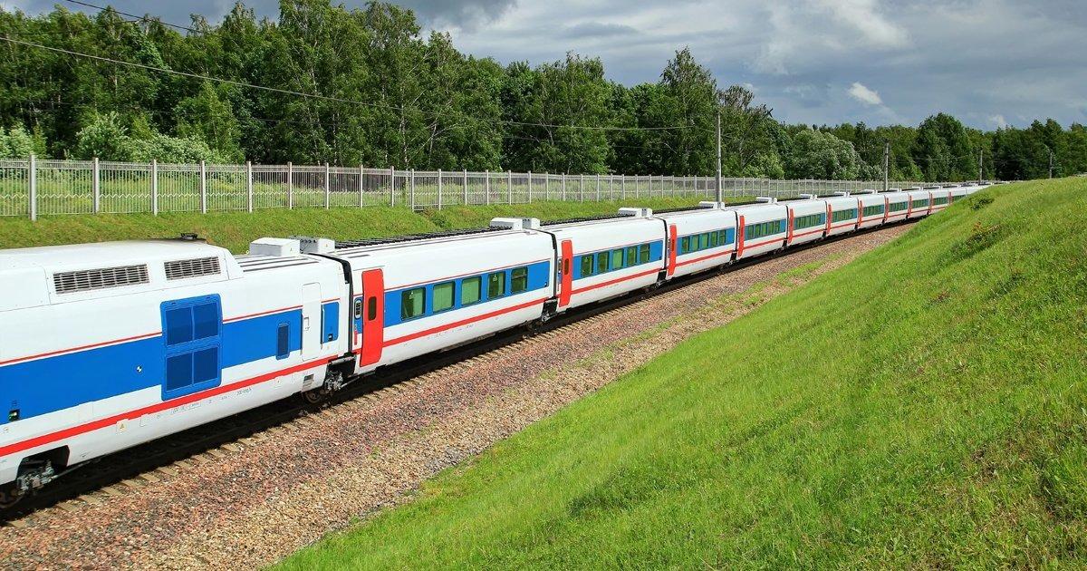 Скоростной поезд «Стриж» Москва – Нижний Новгород
