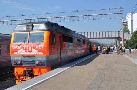 Фирменный поезд «Гилюй» Архангельск – Тында