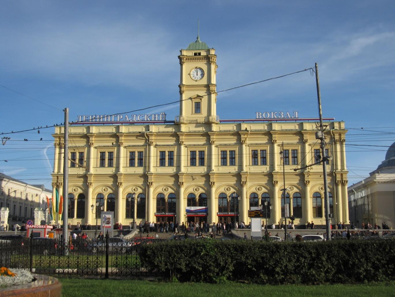 Ленинградский вокзал Москвы: адрес, телефоны и услуги