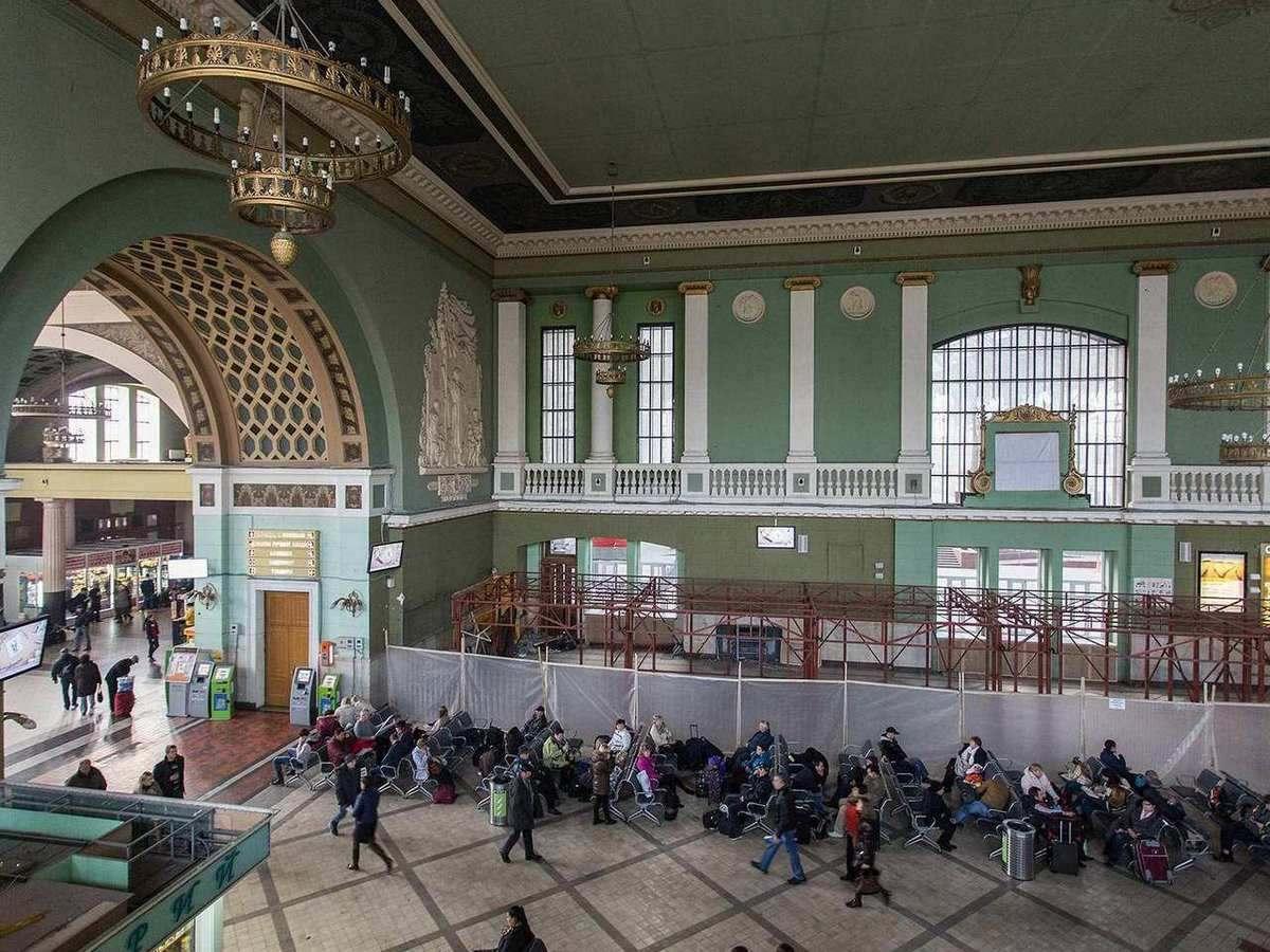 домашних условиях фото московского вокзала внутри заметили